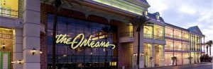 A photograph of the outside of The Orleans Hotel and Casino